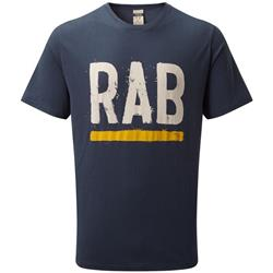 Rab Stance Paint SS Tee - Mens-Deep Ink