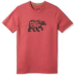 Smartwool Merino Sport 150 Bear Camp Tee - Mens-Earth Red Heather