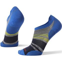 Smartwool PhD Run Ultra Light Pattern Micro Socks - Unisex-Light Gray