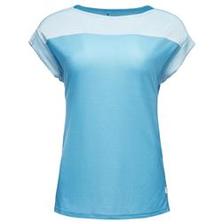 Black Diamond Cottonwood Tee - Womens-Ice Blue