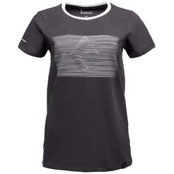 Black Diamond Diamond Contour Tee - Womens-Smoke