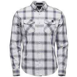 Black Diamond Ls Benchmark Shirt - Mens-Alloy / Captain / Anthracite Plaid