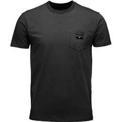 Black Diamond Pocket Label Tee - Mens-Black