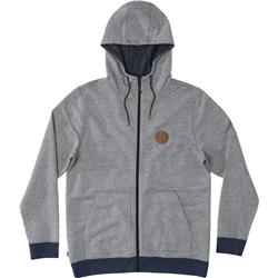 Hippy Tree Norte Hoody - Mens-Heather Grey