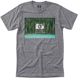Hippy Tree Lakepine Tee - Mens-Heather Grey