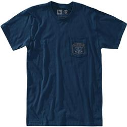 Hippy Tree Ranchero Tee - Mens-Navy