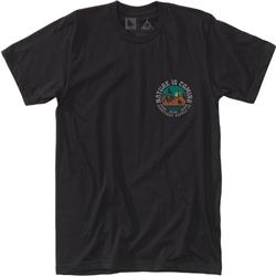 Hippy Tree Headland Tee - Mens-Black