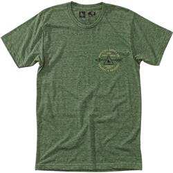 Hippy Tree Riverbend Tee - Mens-Heather Army