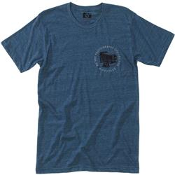 Hippy Tree Viewfinder Tee - Mens-Heather Navy