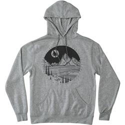 Hippy Tree Moonlight Hoody - Mens-Heather Grey