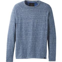 Prana Kaola Crew Sweater - Mens-Blue Anchor Heather