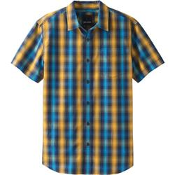 Prana Mick SS Shirt - Mens-Blue Anchor