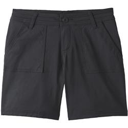 "Prana Olivia Shorts, 7"" Inseam - Womens-Black"