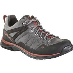 Oboz M-Trail Low - Mens-Dark Shadow / Russet