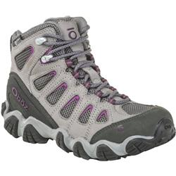 Oboz Sawtooth II Mid B-Dry - Womens-Pewter / Violet