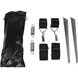 Thule Hold Down Side Strap Kit-Black / Silver