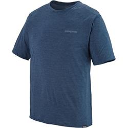 Patagonia Capilene Cool Daily Graphic Shirt - Mens-Boardshort Logo / Stone Blue X-Dye