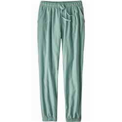 Patagonia Island Hemp Beach Pants - Womens-Cross Weave / Atoll Blue