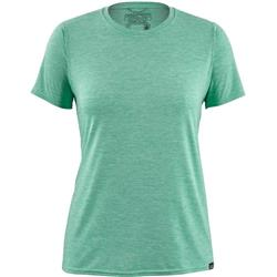 Patagonia Capilene Cool Daily Shirt - Womens-Vjosa Green - Light Vjosa Green X-Dye