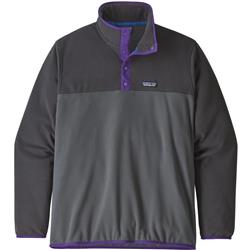 Patagonia Micro D Snap-T Pullover - Mens-Forge Grey