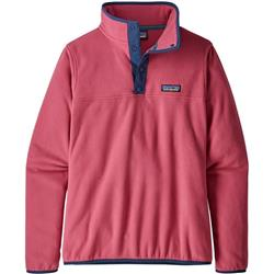 Patagonia Micro D Snap-T Pullover - Womens-Reef Pink