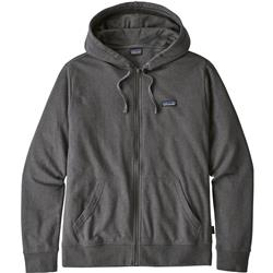 Patagonia P-6 Label Lightweight Full-Zip Hoody - Mens-Forge Grey