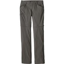 Patagonia Quandary Convertible Pants, Reg - Womens-Forge Grey