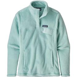 Patagonia Re-Tool Snap-T Pullover - Womens-Atoll Blue - Atoll Blue X-Dye