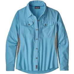 Patagonia Sol Patrol LS Shirt - Womens-Break Up Blue