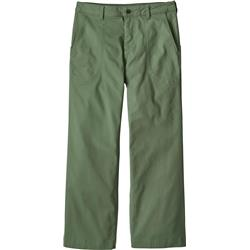 "Patagonia Stand Up Cropped Pants, 26"" Inseam - Womens-Matcha Green"