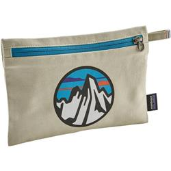 Patagonia Zippered Pouch-Fitz Roy Scope Icon / Bleached Stone