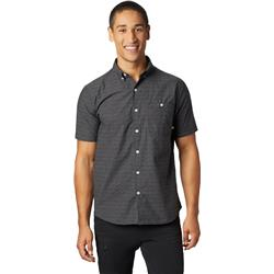 Mountain Hardwear Clear Creek SS Shirt - Mens-Black