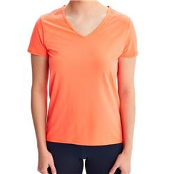 Lole Repose SS - Womens-Fiery Coral