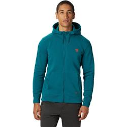 Mountain Hardwear Hardwear Logo Full Zip Hoody - Mens-Dive