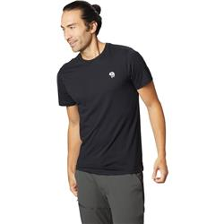 Mountain Hardwear Hardwear Logo SS T - Mens-Black