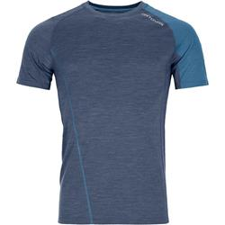 Ortovox 120 Cool Tec Fast Forward T-Shirt - Mens-Night Blue Blend