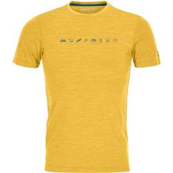 Ortovox 120 Cool Tec Icons T-Shirt - Mens-Yellowstone Blend