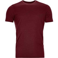 Ortovox 120 Tec Mountain T-Shirt - Mens-Dark Blood