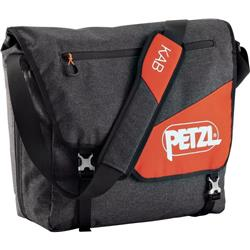 Petzl Kab Courier Style, Large Volume Rope Bag-Gray