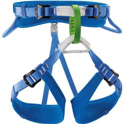 Petzl Macchu Sit Harness - Kids-Blue