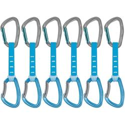 Petzl Djinn Axess Quickdraw 12cm - 6 Pack-Blue