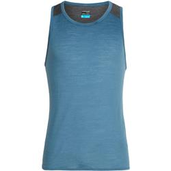 Icebreaker Amplify Tank - Mens-Thunder / Panther Heather
