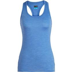 Icebreaker Amplify Racerback Tank - Womens-Cove Heather