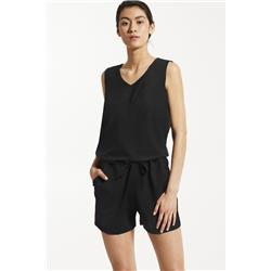Fig Clothing Ace Romper - Womens-Black