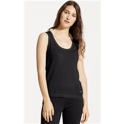 Fig Clothing Eva Sleeveless Top - Womens-Black