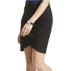 Fig Clothing Far Skirt, Organic Stretch / Fargo - Womens-Black