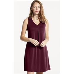 Fig Clothing Iva Dress / Ambanja - Womens-Cherry