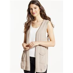 Fig Clothing Lax Cardigan - Womens-Dune