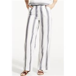Fig Clothing Lev Pants - Womens-Black Stripe