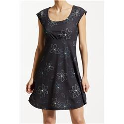 Fig Clothing Oro Dress - Womens-Black Magnolia